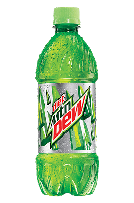 i no longer do the dew.